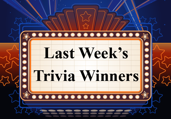 Trivia Last Week's Winners Logo